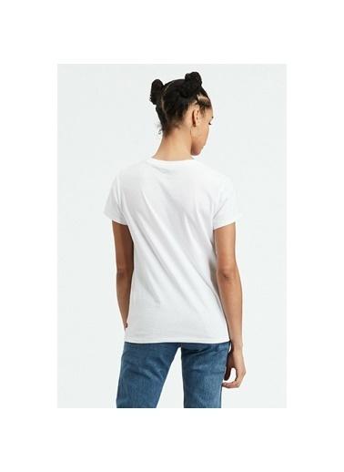 Levi's® Kadın Tişört The Perfect 74309-0237 Beyaz